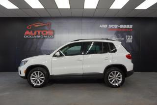 Used 2017 Volkswagen Tiguan 4MOTION WOLFSBURG EDITION CUIR CAMERA BLUETOOTH for sale in Lévis, QC