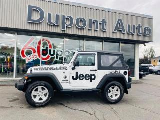 Used 2018 Jeep Wrangler Sport 4X4 for sale in Alma, QC