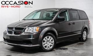 Used 2017 Dodge Grand Caravan CVP AIR.CLIMATISÉ+BLUETOOTH for sale in Boisbriand, QC