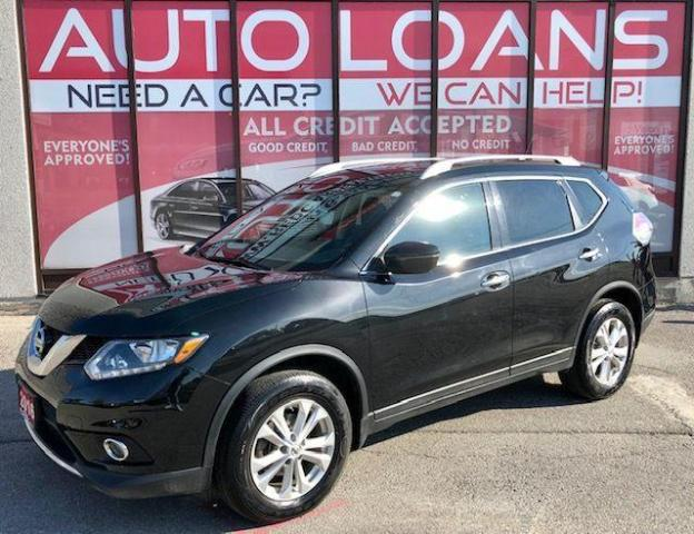 2016 Nissan Rogue SV-ALL CREDIT ACCEPTED