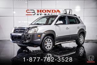 Used 2007 Hyundai Tucson GL + V6 + AUTO + A/C + CRUISE + WOW! for sale in St-Basile-le-Grand, QC