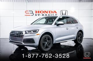 Used 2018 Audi Q5 TECHNIK + NAVI + QUATTRO + CUIR + WOW! for sale in St-Basile-le-Grand, QC