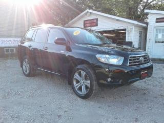 Used 2010 Toyota Highlander Sport for sale in Oak Bluff, MB