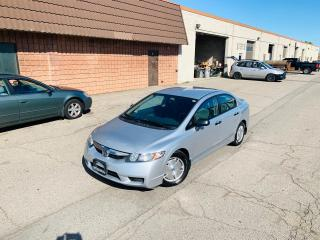 Used 2010 Honda Civic Sdn DX-G   SERVICED   CLEAN CAR for sale in Burlington, ON