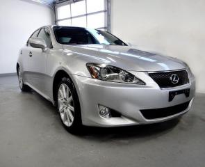 Used 2006 Lexus IS 250 AWD,BACK CAM,VERY CLEAN for sale in North York, ON