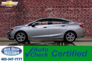 Used 2016 Chevrolet Cruze Premier Leather Roof Nav BCam for sale in Red Deer, AB