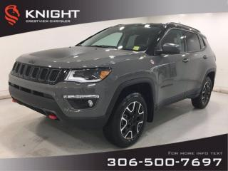 New 2021 Jeep Compass Trailhawk Elite 4x4 | Leather | Navigation | for sale in Regina, SK
