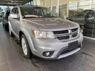 Used 2016 Dodge Journey R/T AWD, DVD, POWER HEATED LEATHER SEATS AND STEERING WHEEL for sale in Edmonton, AB