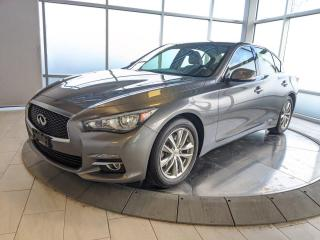 Used 2016 Infiniti Q50 3.0t AWD PREMIUM/CPO for sale in Edmonton, AB