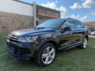 Used 2014 Volkswagen Touareg HIGHLINE R LINE AWD NAVI REAR CAM PANO ROOF for sale in North York, ON