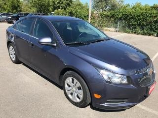 Used 2014 Chevrolet Cruze 1LT ** AUTOSTART ,CRUISE, BLUETOOTH  ** for sale in St Catharines, ON