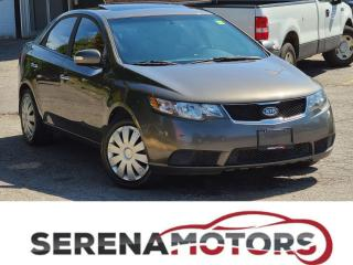 Used 2010 Kia Forte EX   MANUAL   SUNROOF   AS IS for sale in Mississauga, ON