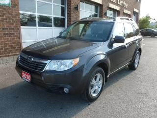 Used 2010 Subaru Forester X for sale in Weston, ON