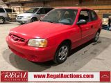 Photo of Red 2002 Hyundai Accent