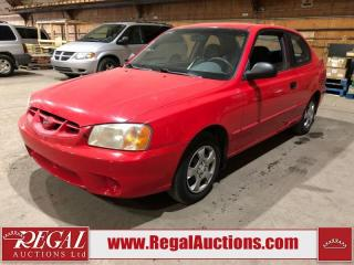 Used 2002 Hyundai Accent GS 2D Hatchback for sale in Calgary, AB