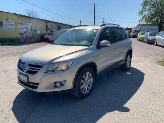 Used 2009 Volkswagen Tiguan COMFORTLINE,AWD,CERTIFIED,NO Accidents,Pano Roof for sale in Ajax, ON