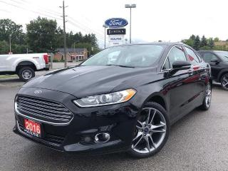 Used 2016 Ford Fusion Titanium for sale in Aurora, ON