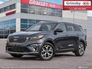 New 2019 Kia Sorento SX V6|HUGE SAVINGS|FREE WINTER TIRES|NAV|PANOROOF for sale in Grimsby, ON