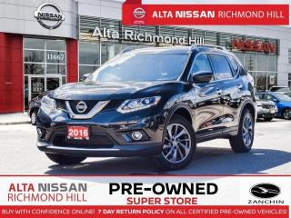 Used 2016 Nissan Rogue SL Prem.   Pano   Leather   Bose   Blind Spot for sale in Richmond Hill, ON