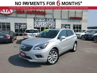 Used 2016 Buick Envision Premium, AWD, NAV, Leather, SUN Roof. for sale in Niagara Falls, ON