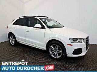 Used 2017 Audi Q3 Komfort AWD TOIT OUVRANT - A/C - Sièges Chauffants for sale in Laval, QC