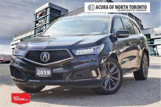 Used 2019 Acura MDX A-Spec No Accident| Apple Carplay| Remote Start for sale in Thornhill, ON