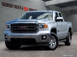 Used 2015 GMC Sierra 1500 4WD Double Cab 143.5  SLE for sale in Mississauga, ON