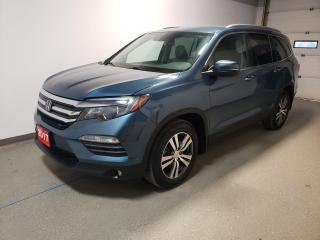 Used 2017 Honda Pilot EX-L RES|Warranty|Htd Leather|Rmt Start|Carplay| for sale in Brandon, MB