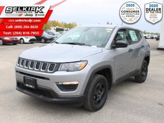 New 2021 Jeep Compass Sport 4x4 - Apple Carplay -  Android Auto for sale in Selkirk, MB
