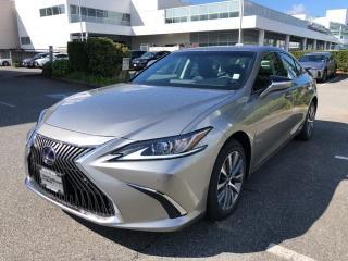 New 2020 Lexus ES 300 h Premium Ecvt Premium Package for sale in North Vancouver, BC