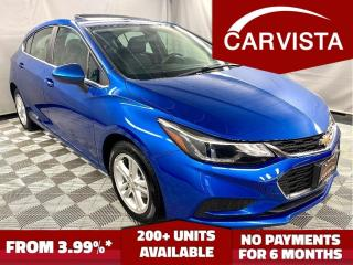 Used 2017 Chevrolet Cruze HATCHBACK LT - FACTORY WARRANTY/REMOTE START - for sale in Winnipeg, MB