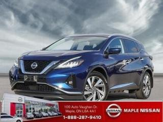 New 2020 Nissan Murano SL for sale in Maple, ON