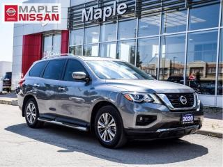 Used 2020 Nissan Pathfinder SL AWD Navi 360 Cam Moonroof Remote Start Bose for sale in Maple, ON