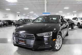Used 2017 Audi A4 QUATTRO I SUNROOF I HEATED SEATS I LEATHER I PUSH START I BT for sale in Mississauga, ON