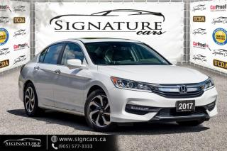 Used 2017 Honda Accord Sedan 4dr I4 CVT EX-L. NO ACCIDENT. ONE OWNER. LEATHER. for sale in Mississauga, ON