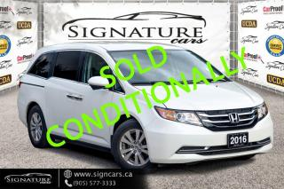 Used 2016 Honda Odyssey EX. NO ACCIDENT. ONE OWNER. 8 PSNGR. 04 NEW TIRES! for sale in Mississauga, ON