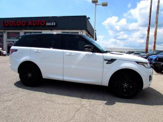 Used 2014 Land Rover Range Rover Sport 5.0L V8 Supercharged Navi Certified for sale in Milton, ON