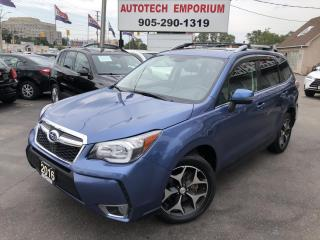 Used 2016 Subaru Forester 2.0XT Limited Tech EyeSight Navigation/Leather/Sunroof for sale in Mississauga, ON