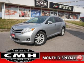 Used 2015 Toyota Venza Base  NAV CAM LEATH ROOF P/GATE HTD-SEATS for sale in St. Catharines, ON
