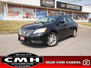 Used 2015 Nissan Sentra SV  CAM HTD-SEATS BT AUTO for sale in St. Catharines, ON