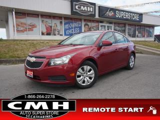 Used 2012 Chevrolet Cruze LT Turbo  TURBO REM-START AUTO for sale in St. Catharines, ON