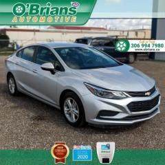 Used 2017 Chevrolet Cruze LT w/Command Start, Heated Seats, Backup Camera for sale in Saskatoon, SK
