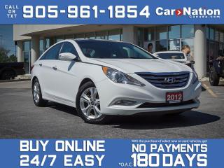 Used 2012 Hyundai Sonata 2.4L Limited| NAVI| LEATHER| SUNROOF| PUSH START| for sale in Burlington, ON