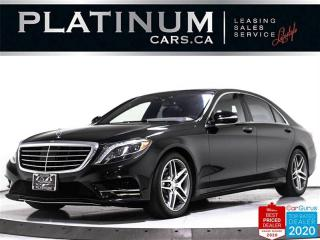 Used 2015 Mercedes-Benz S-Class S550 4MATIC, LWB, AMG, DISTRONIC PLUS, NAV, PANO for sale in Toronto, ON