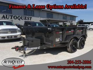 Used 2020 DIAMOND C 41ED 10' x 77 Dump Trailer - 7 000K for sale in Winnipeg, MB