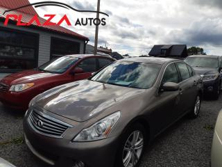 Used 2010 Infiniti G37 4dr x AWD for sale in Beauport, QC
