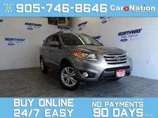 Used 2012 Hyundai Santa Fe GL PREMIUM  | SUNROOF | 1 OWNER | LOW KMS! for sale in Brantford, ON