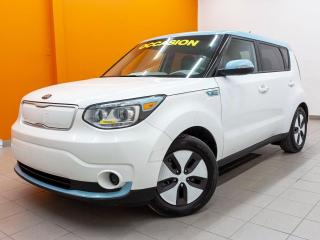Used 2017 Kia Soul EV CHARGE RAPIDE *NAVI* SIEGES CHAUFF *CAMERA* PROMO for sale in St-Jérôme, QC