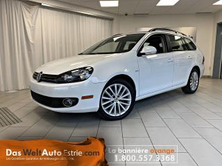 Used 2014 Volkswagen Golf Wagon Wolfsburg, Cuir, Toit, Manuel Bas Kilo! for sale in Sherbrooke, QC