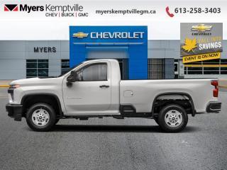 New 2020 Chevrolet Silverado 2500 HD WT for sale in Kemptville, ON